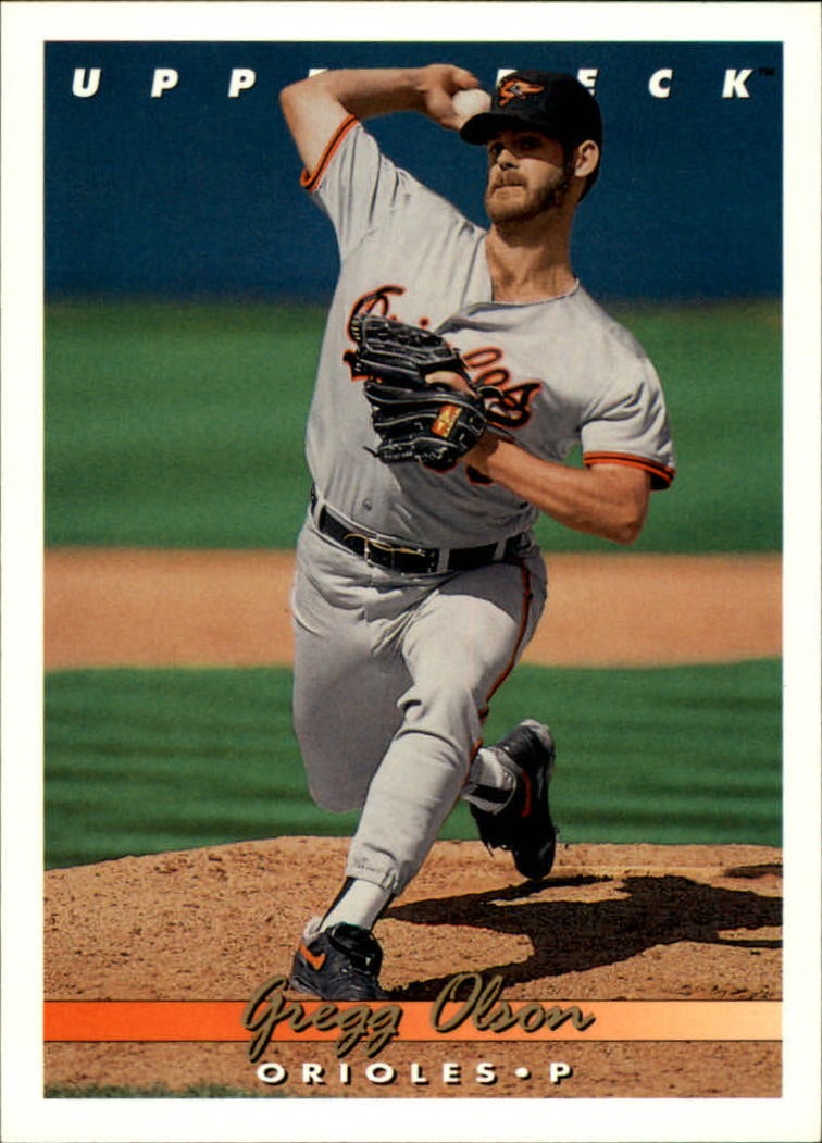 1993 Upper Deck #674 Gregg Olson