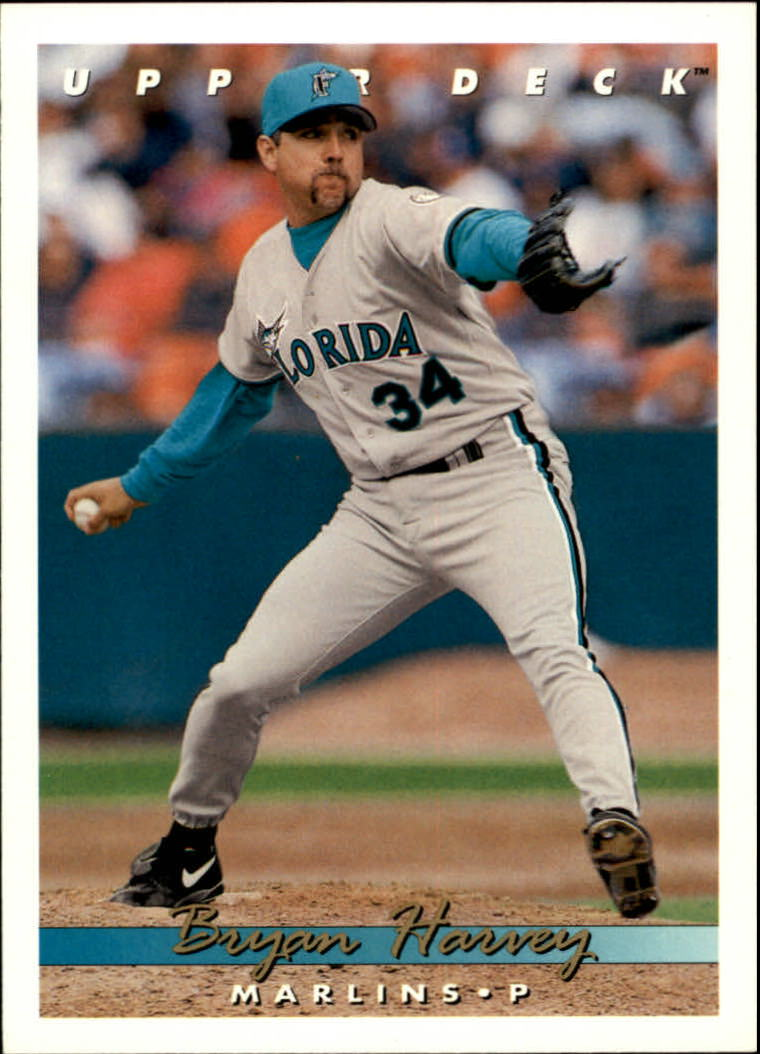 1993 Upper Deck #684 Bryan Harvey