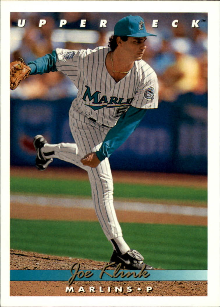 1993 Upper Deck #715 Joe Klink