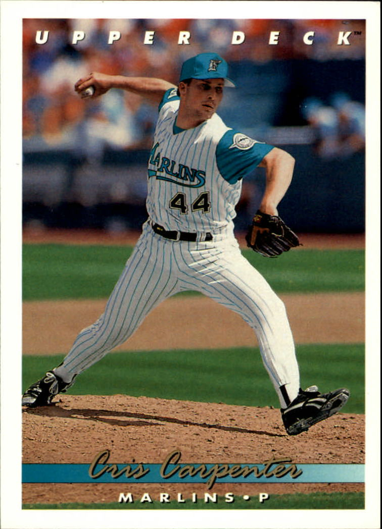 1993 Upper Deck #726 Cris Carpenter