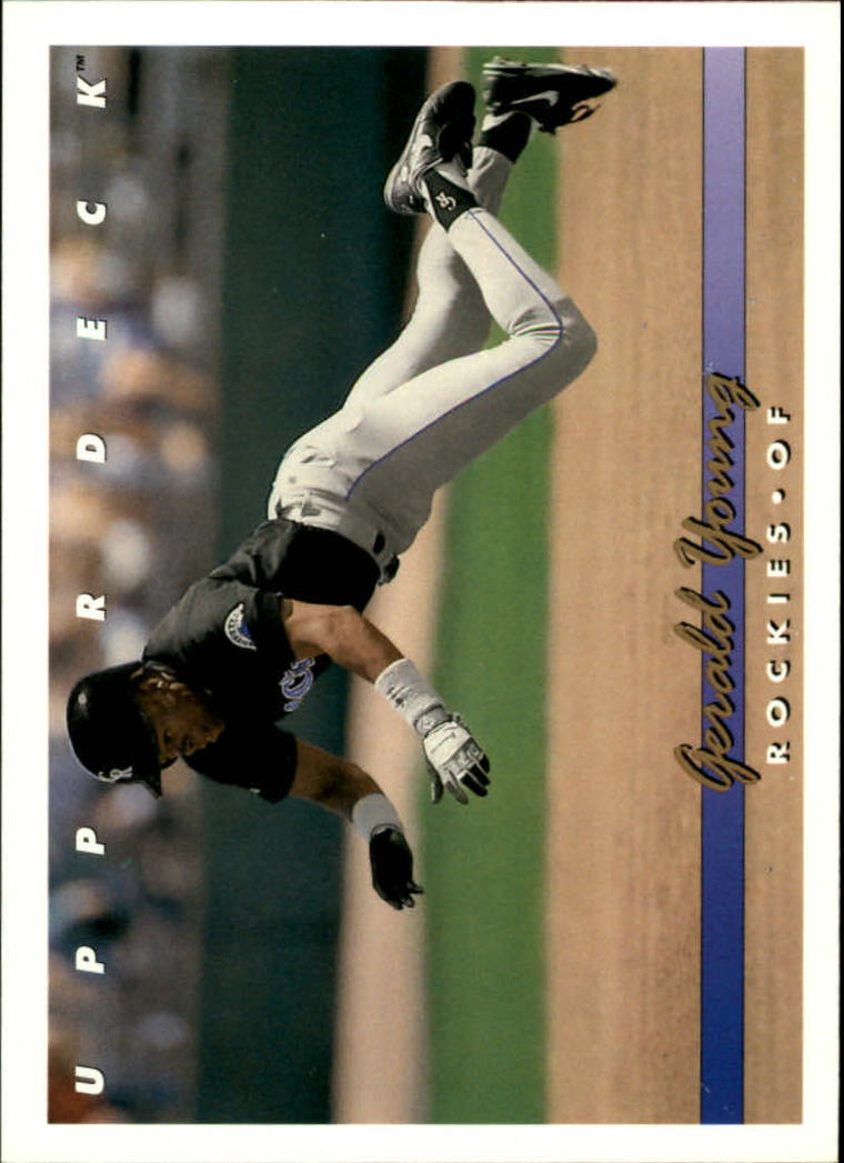 1993 Upper Deck #740 Gerald Young