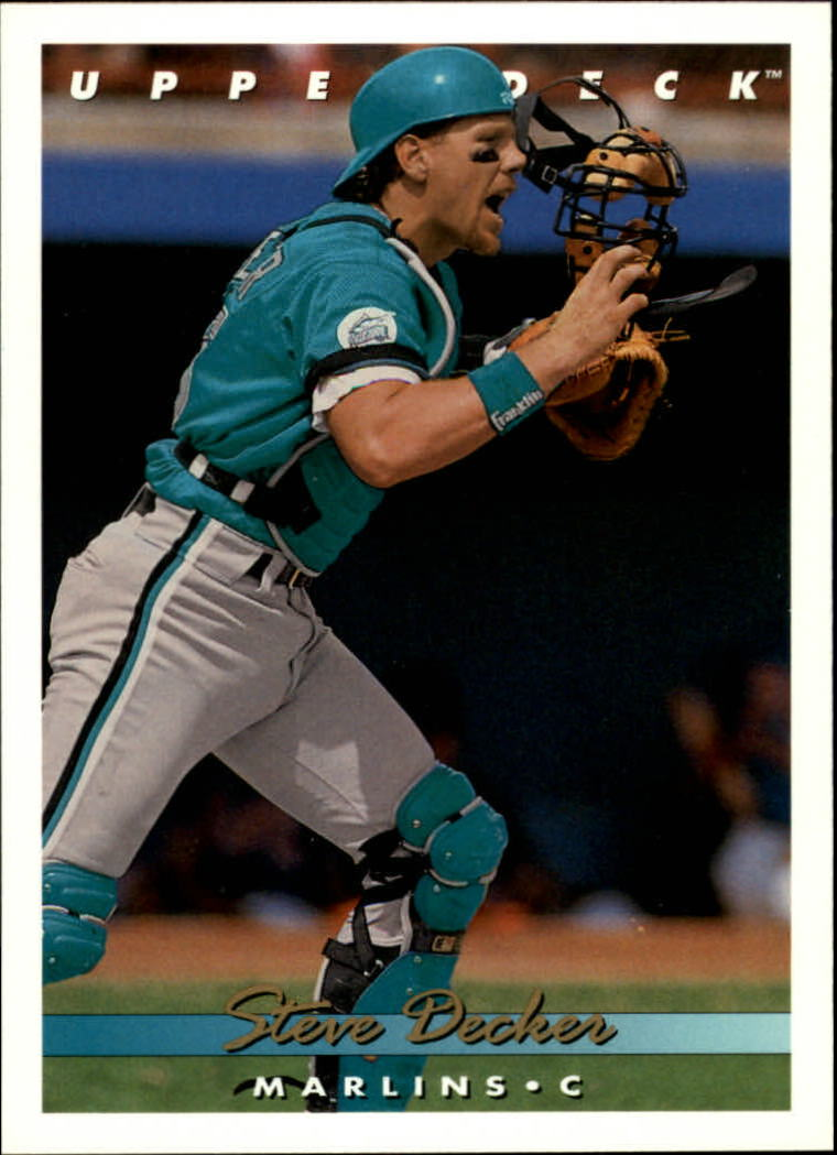 1993 Upper Deck #744 Steve Decker