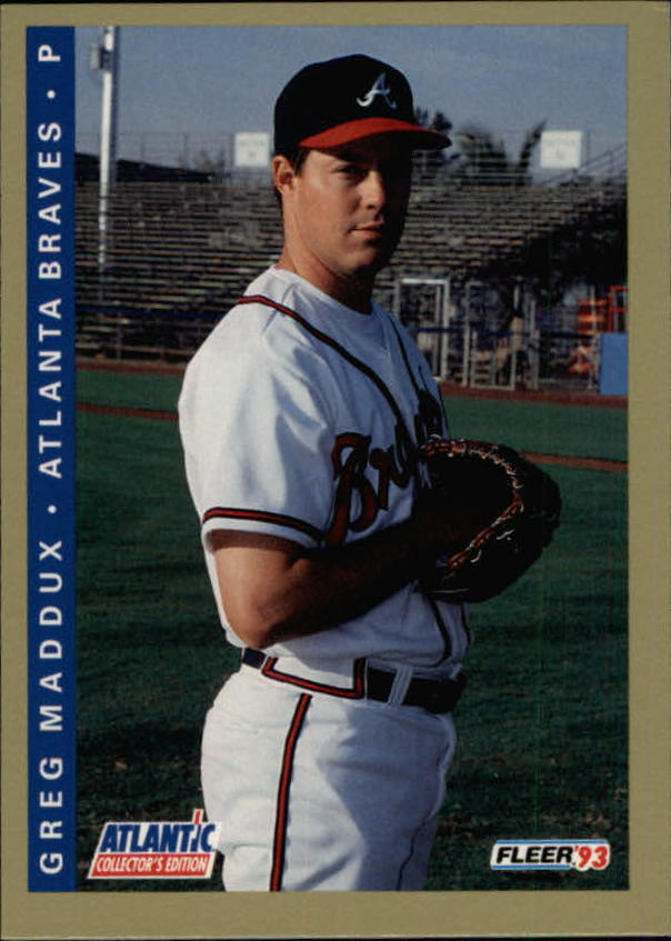 1993 Fleer Atlantic #13 Greg Maddux