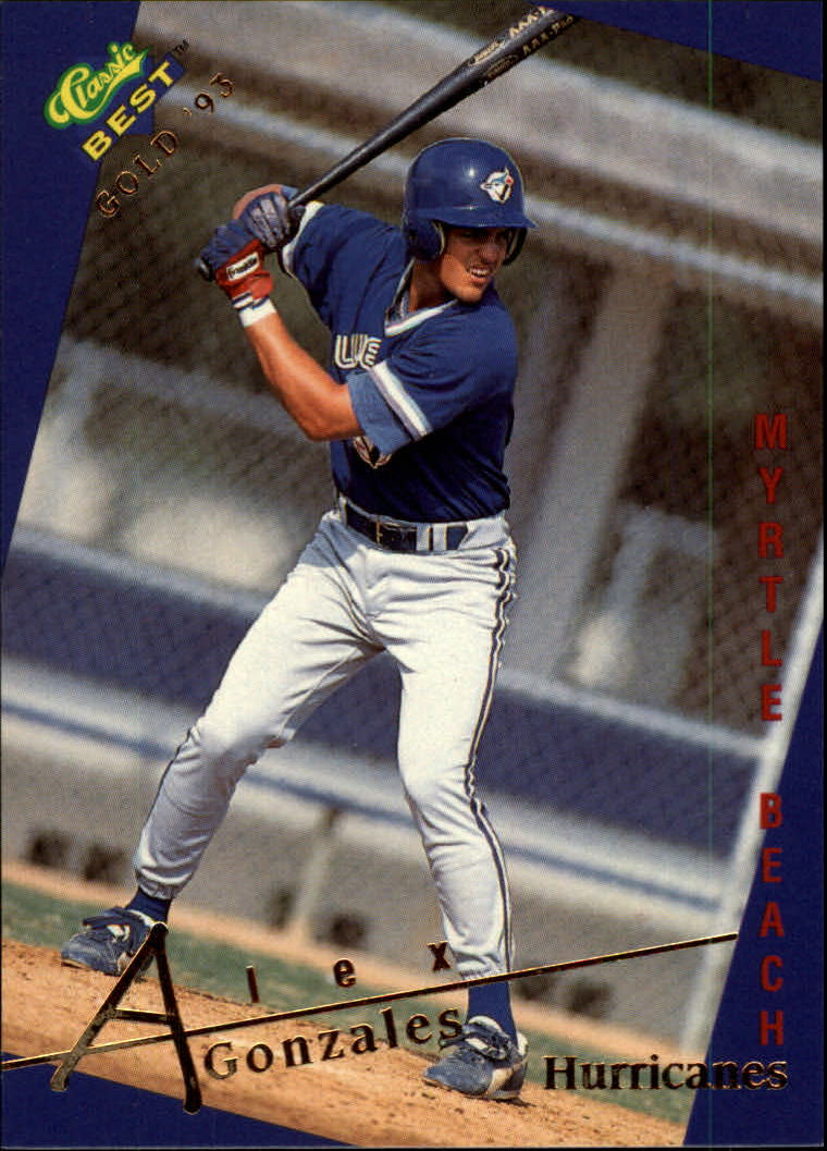 1993 Classic/Best Gold #128 Alex Gonzalez