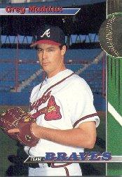 1993 Braves Stadium Club #18 Greg Maddux