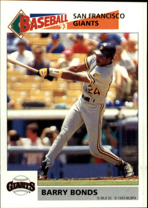 1993 Panini Stickers #243 Barry Bonds