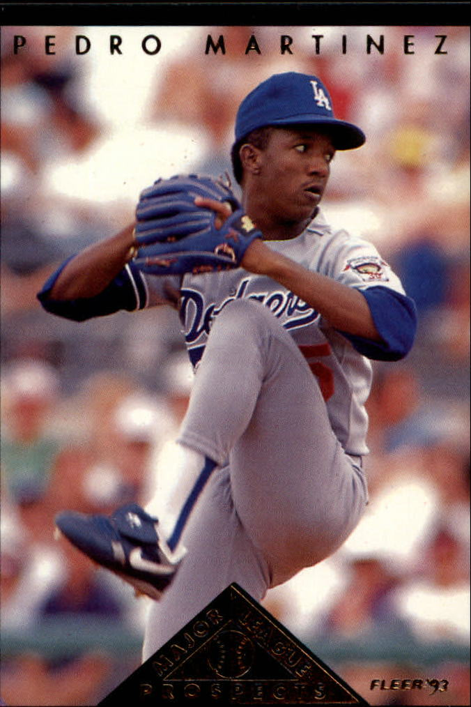 1993 Fleer Major League Prospects #B4 Pedro Martinez