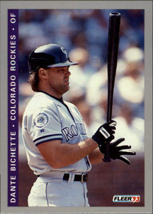 1993 Fleer Final Edition #22 Dante Bichette