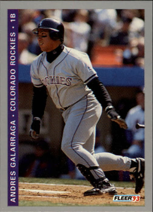 1993 Fleer Final Edition #30 Andres Galarraga