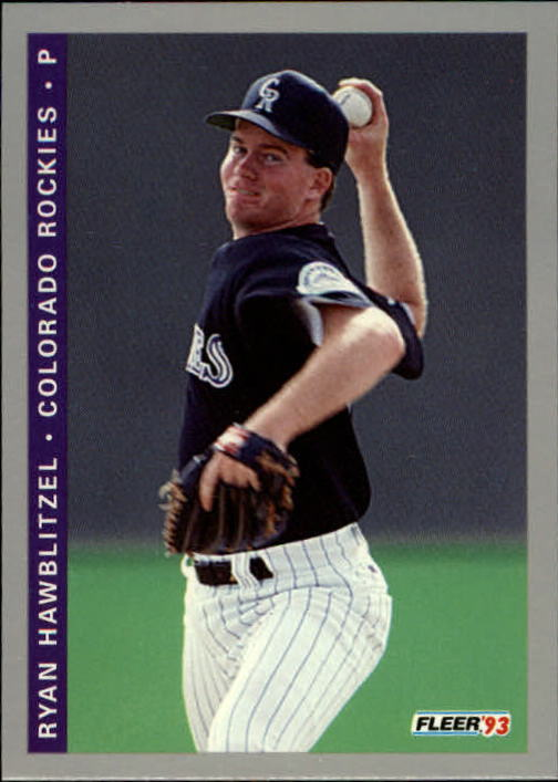 1993 Fleer Final Edition #32 Ryan Hawblitzel