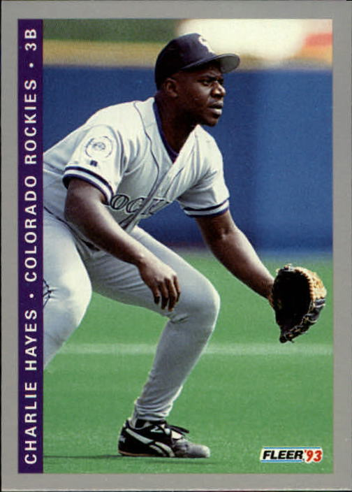 1993 Fleer Final Edition #33 Charlie Hayes