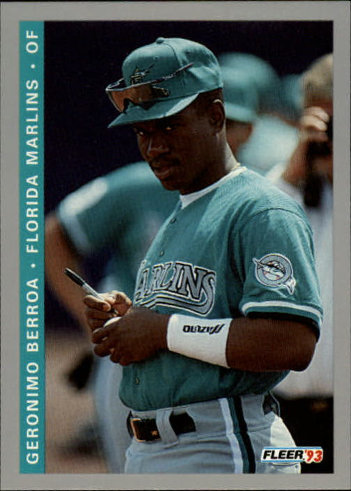 1993 Fleer Final Edition #52 Geronimo Berroa