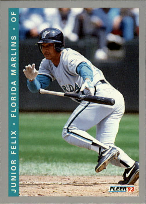 1993 Fleer Final Edition #60 Junior Felix