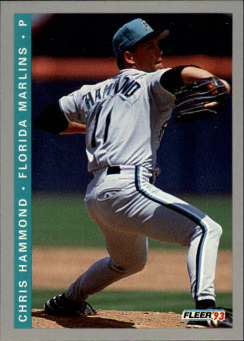 1993 Fleer Final Edition #61 Chris Hammond
