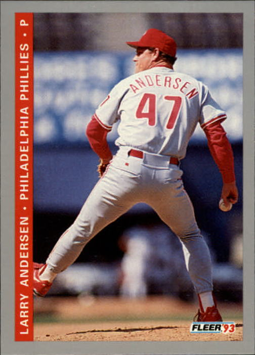 1993 Fleer Final Edition #108 Larry Andersen