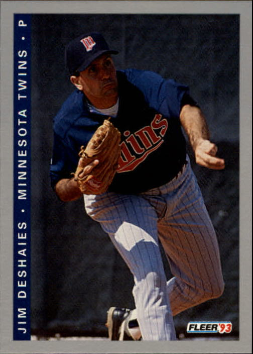 1993 Fleer Final Edition #234 Jim Deshaies
