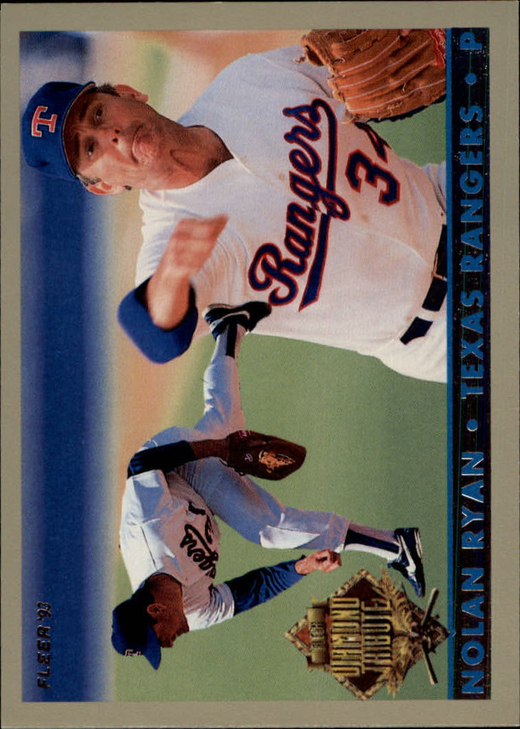 1993 Fleer Final Edition Diamond Tribute #6 Nolan Ryan