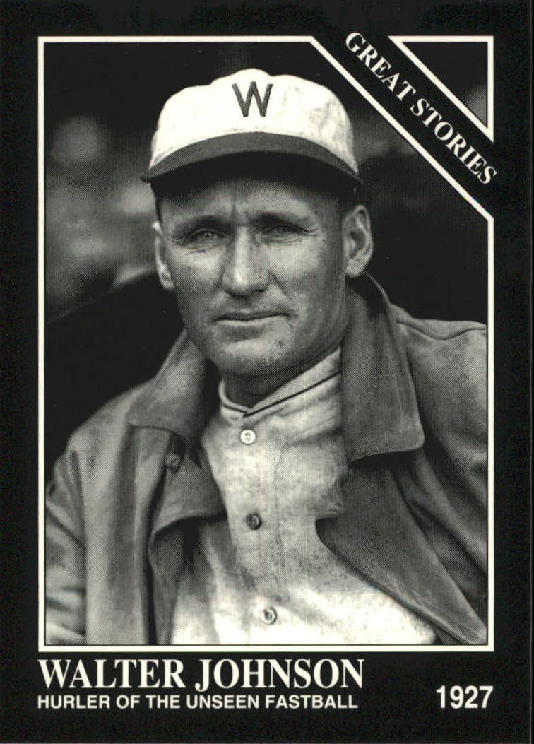1993 Conlon TSN #758 Walter Johnson