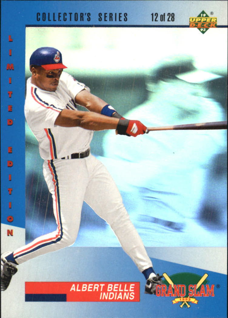 1993 Denny's Holograms #12 Albert Belle