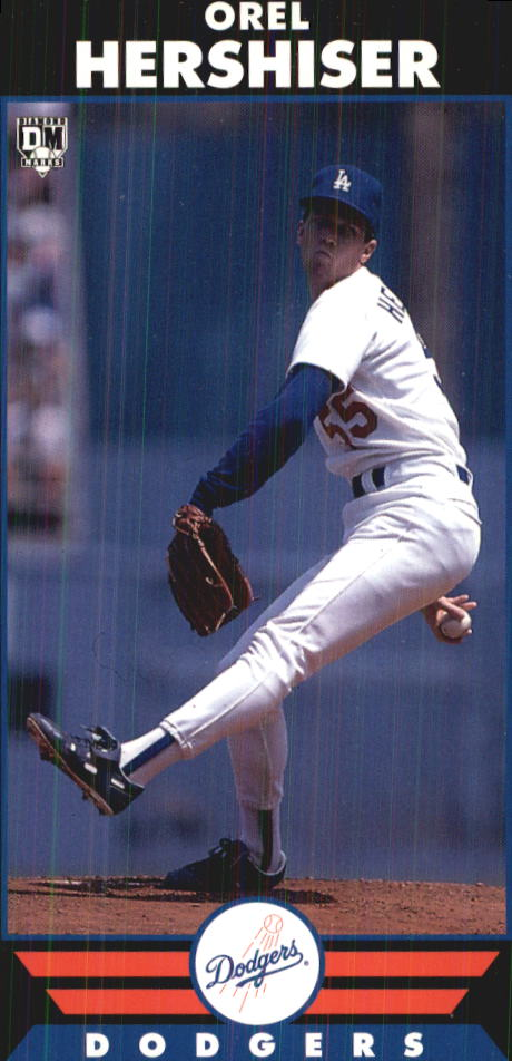 1993 Diamond Marks #51 Orel Hershiser