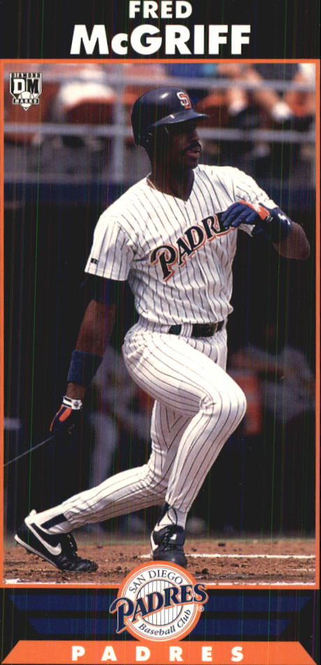 1993 Diamond Marks #72 Fred McGriff