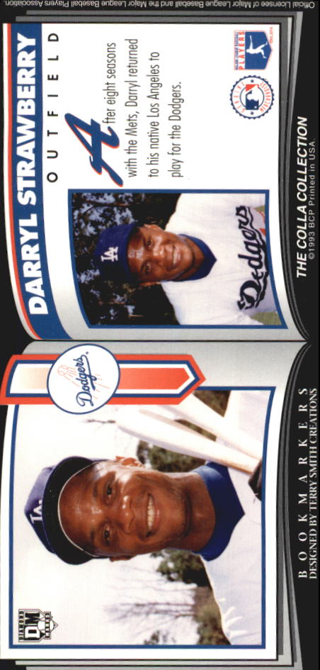 1993 Diamond Marks #104 Darryl Strawberry back image