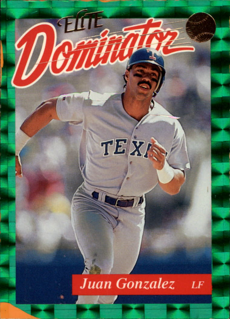 1993 Donruss Elite Dominators #11 Juan Gonzalez