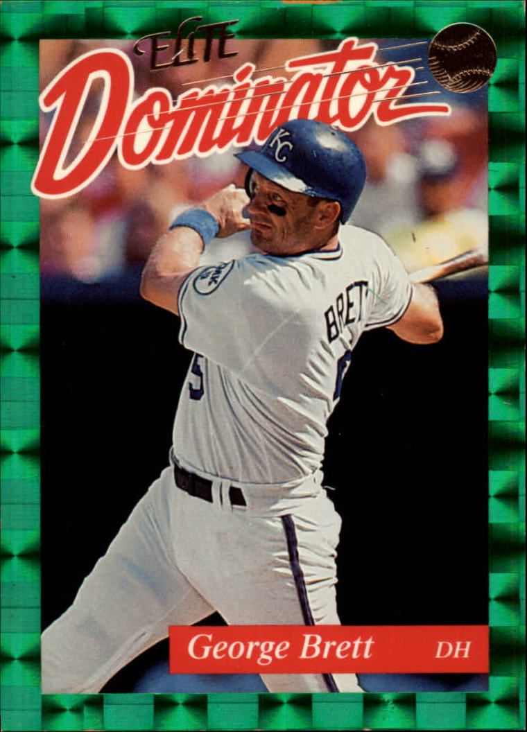 1993 Donruss Elite Dominators #15 George Brett