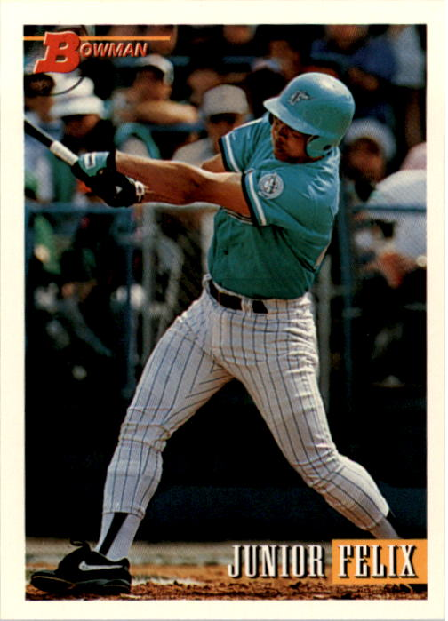 1993 Bowman #122 Junior Felix