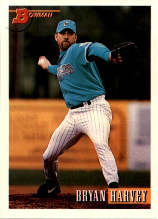 1993 Bowman #234 Bryan Harvey