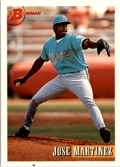 1993 Bowman #331 Jose Martinez RC