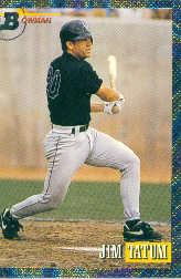 1993 Bowman #339 Jim Tatum FOIL RC