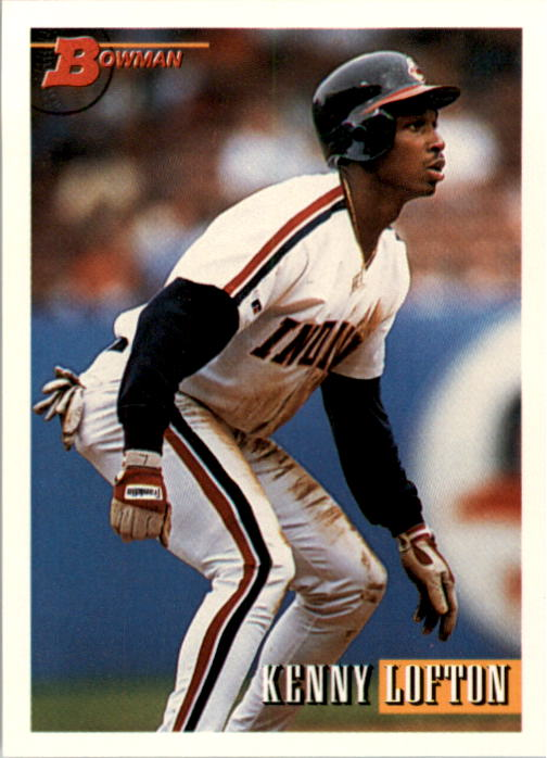 1993 Bowman #417 Kenny Lofton