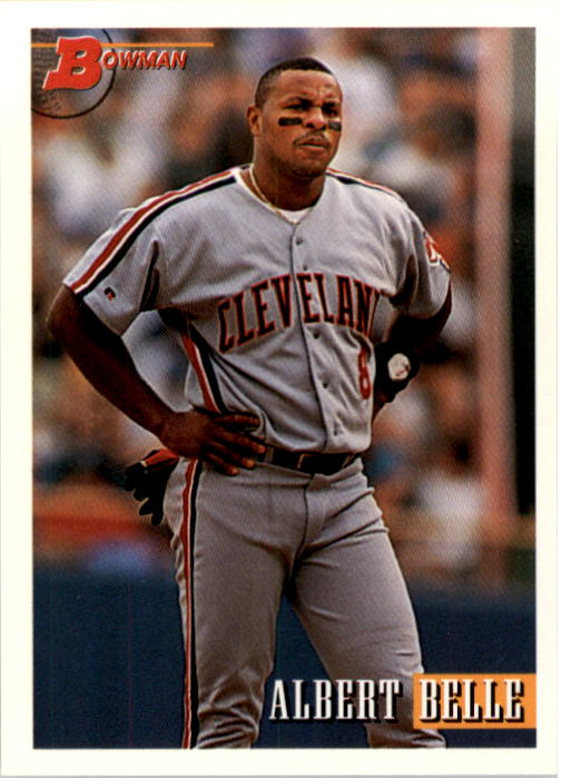1993 Bowman #445 Albert Belle