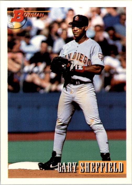 1993 Bowman #490 Gary Sheffield