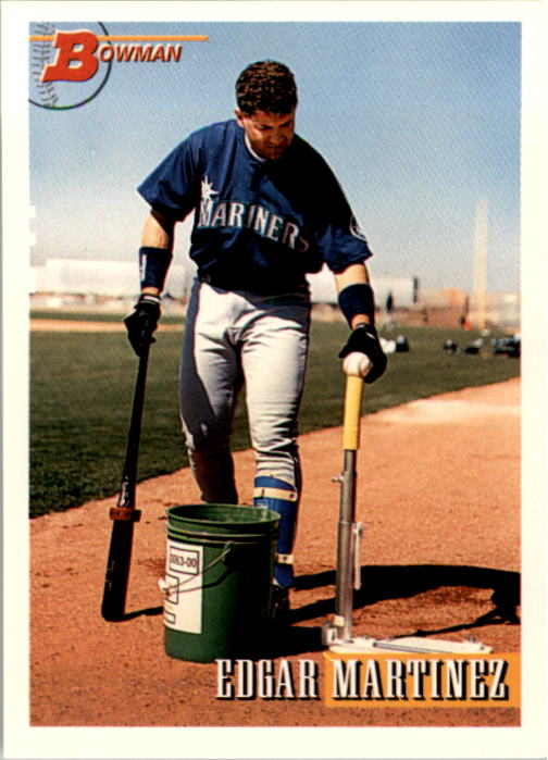 1993 Bowman #515 Edgar Martinez