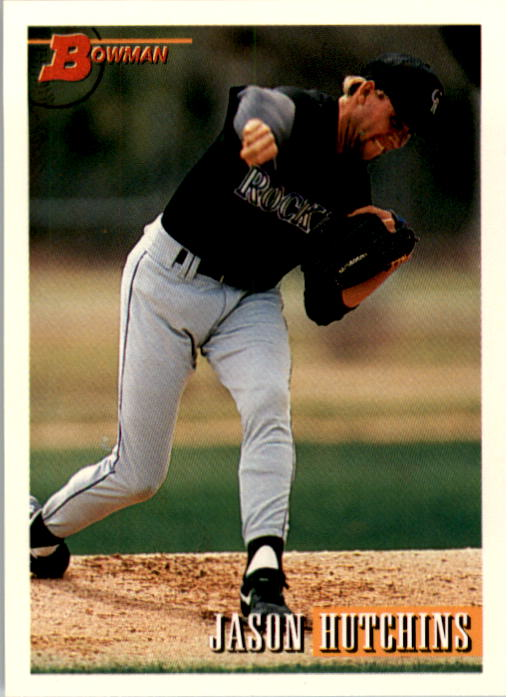 1993 Bowman #584 Jason Hutchins RC