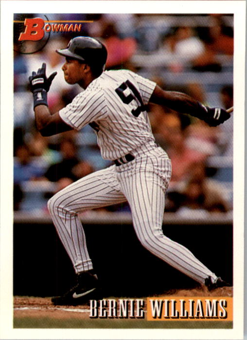 1993 Bowman #623 Bernie Williams