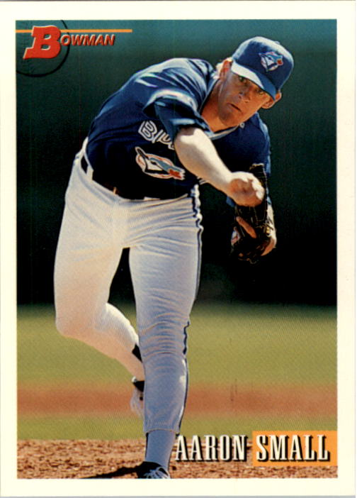 1993 Bowman #631 Aaron Small RC