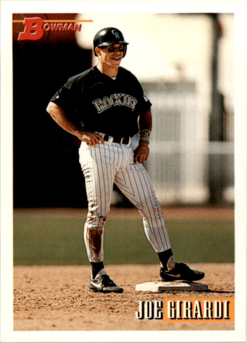1993 Bowman #668 Joe Girardi
