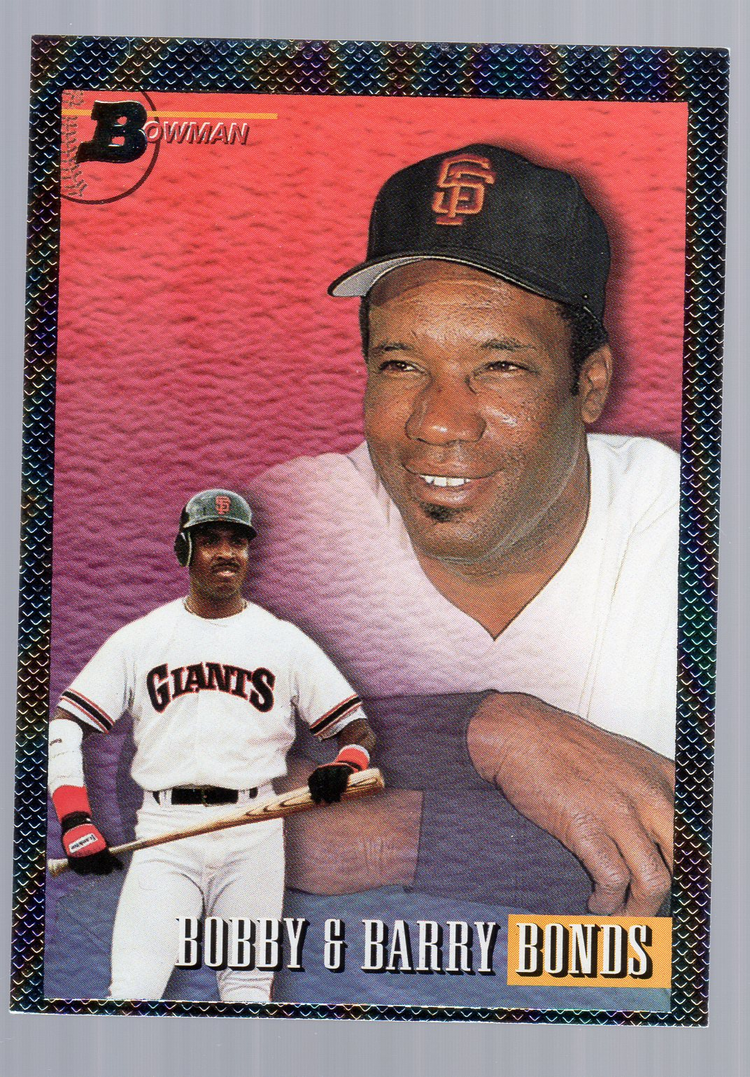 1993 Bowman #702 Barry/Bobby Bonds FOIL