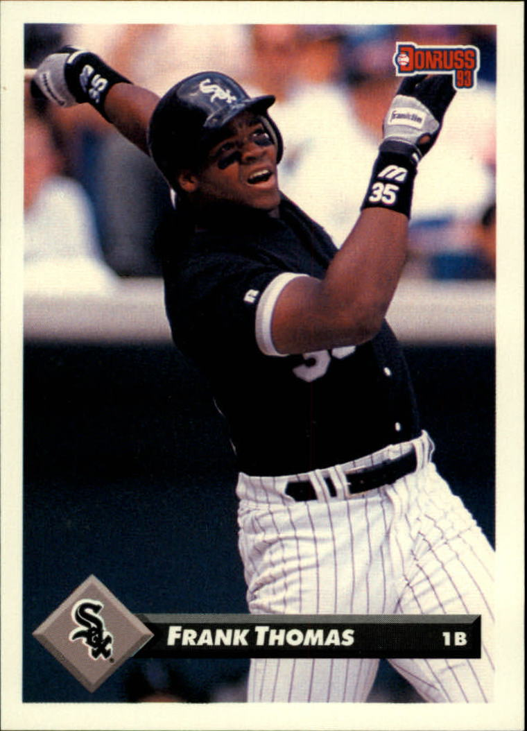 1993 Donruss #7 Frank Thomas