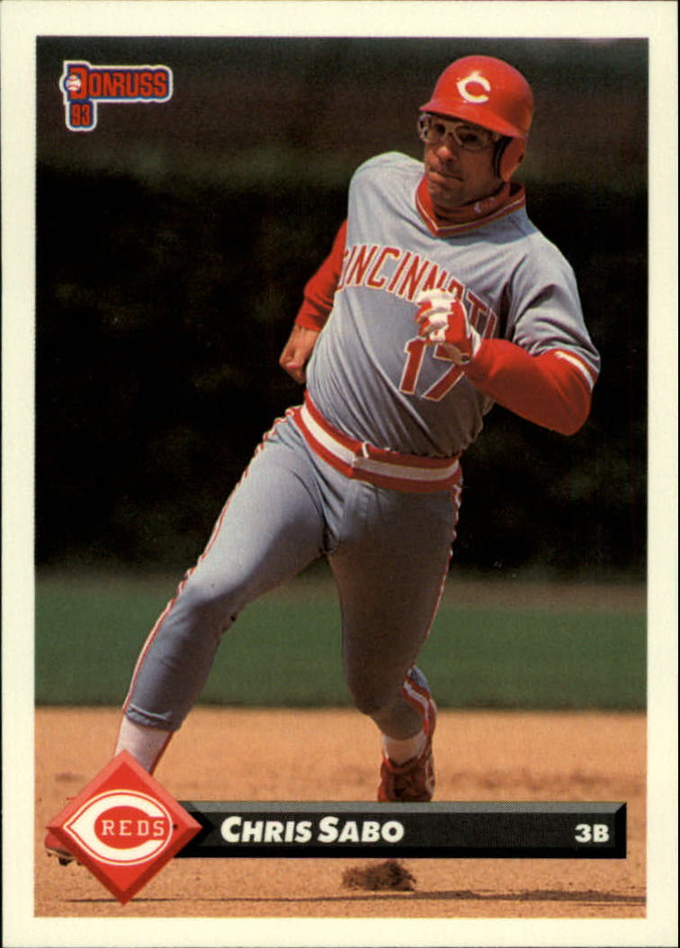 1993 Donruss #58 Chris Sabo