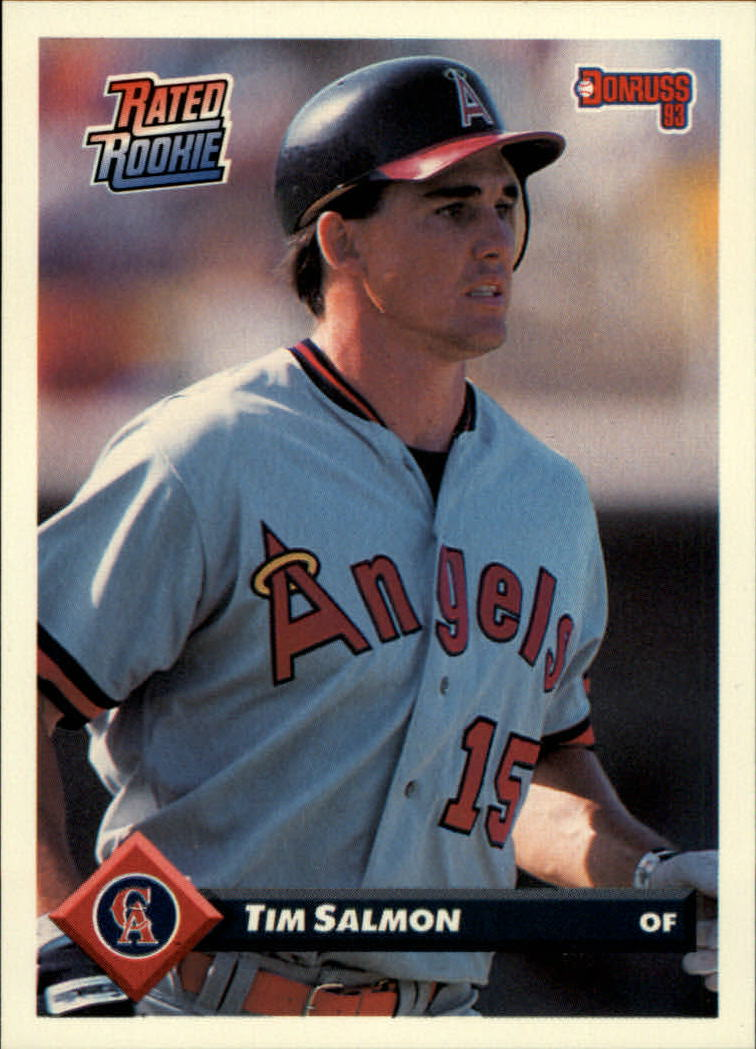 1993 Donruss #176 Tim Salmon