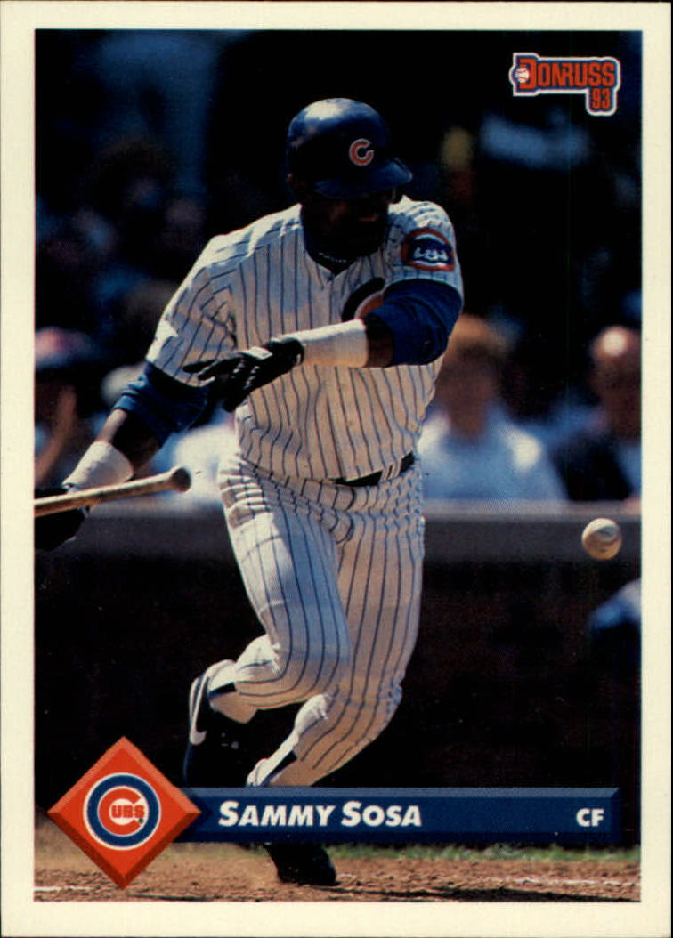 1993 Donruss #186 Sammy Sosa