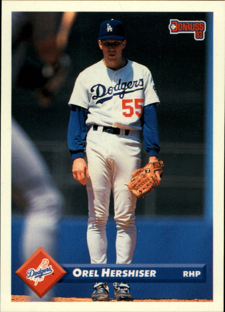 1993 Donruss #274 Orel Hershiser