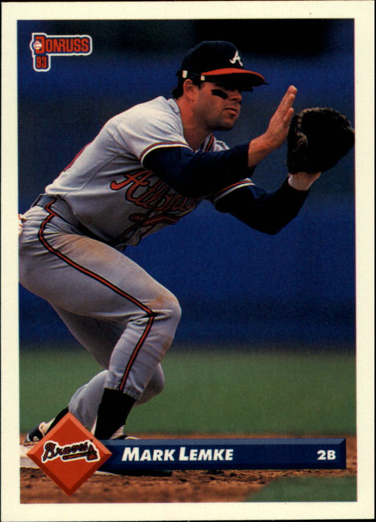 1993 Donruss #316 Mark Lemke