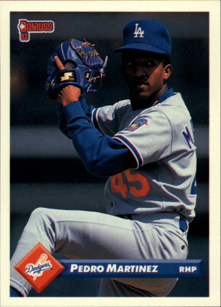 1993 Donruss #326 Pedro Martinez