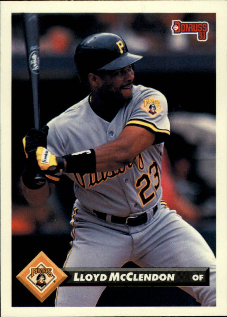 1993 Donruss #384 Lloyd McClendon