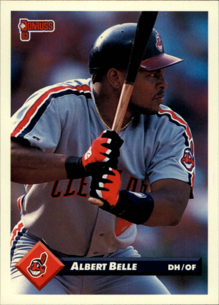 1993 Donruss #435 Albert Belle